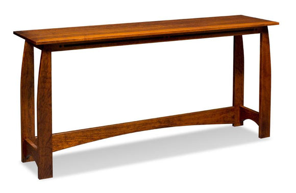 Simply Amish Living Aspen Console Bar Table
