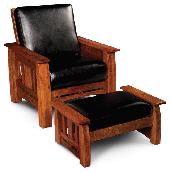Simply Amish Living Aspen Easy Chair With Inlay