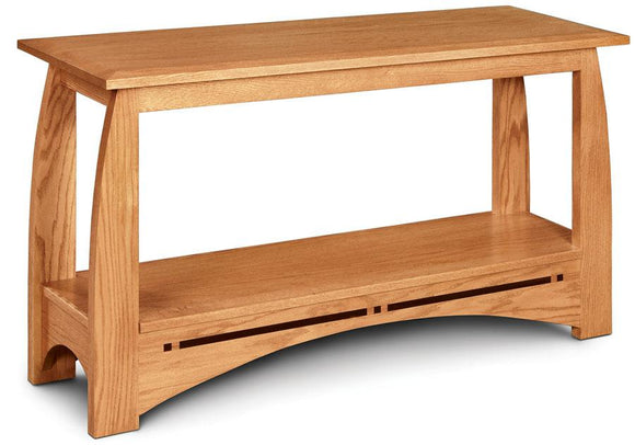 Simply Amish Living Aspen Sofa Table with Inlay 48 inch w