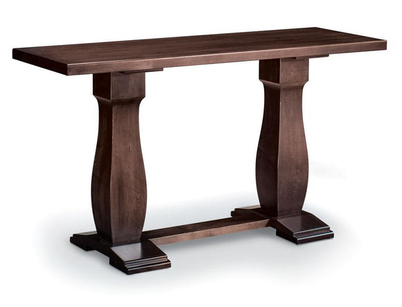 Simply Amish Living Avalon Sofa Table 54 inch