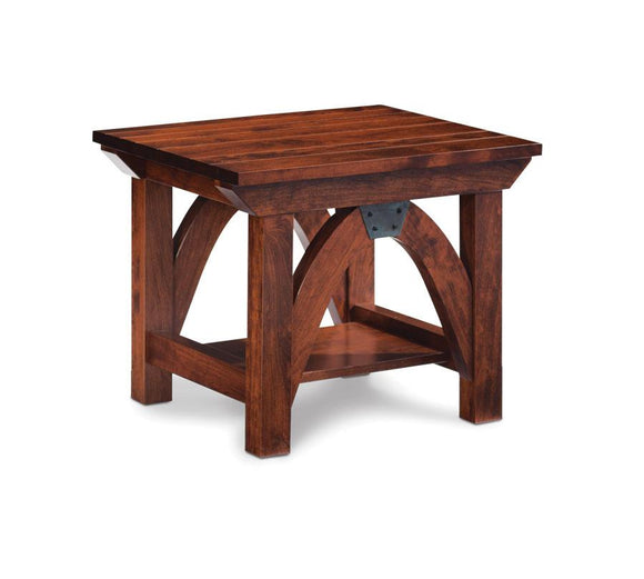 Simply Amish Living B&O Railroad Trestle Bridge End Table 16 inch x26 inch