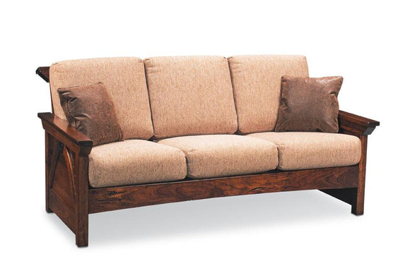 Simply Amish Living B&O Railroad Trestle Bridge Sofa