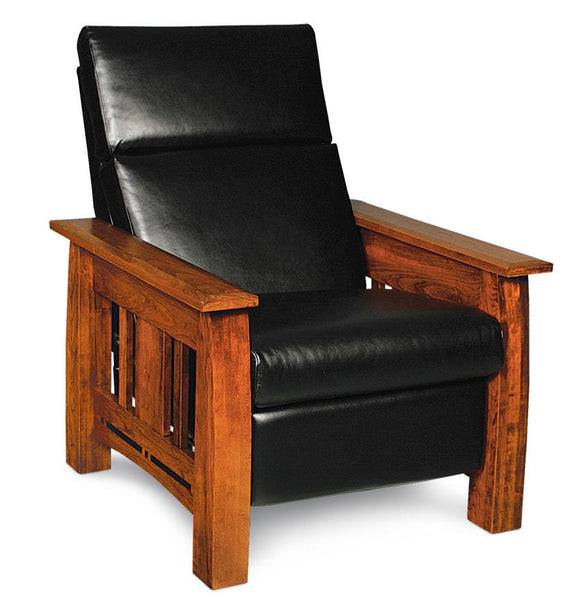 Simply Amish Living Express Ship Aspen Recliner Asphalt