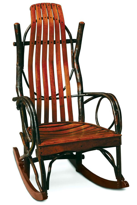 Simply Amish Living Express Ship Cherry Hollow Bentwood Rocker