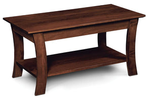 Simply Amish Living Grace Coffee Table 36 inch x18 inch