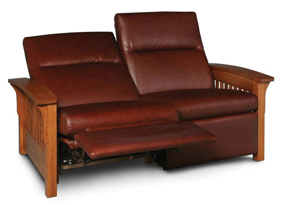 Simply Amish Living Grand Rapids Loveseat Recliner