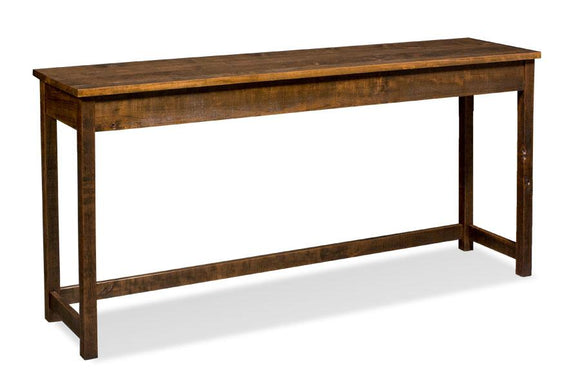 Simply Amish Living Incognito Console Bar Table