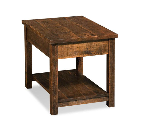 Simply Amish Living Incognito End Table 16 inches