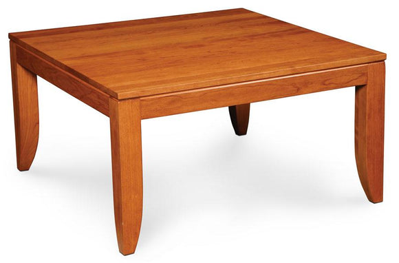 Simply Amish Living Justine Square Coffee Table 34 inch x34 inch