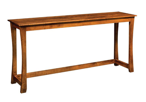 Simply Amish Living Loft Console Bar Table