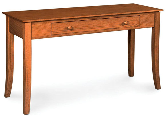 Simply Amish Living Loft Leg 1-Drawer Sofa Table