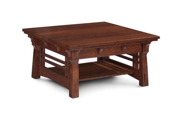 Simply Amish Living MaKayla Square Coffee Table 36 inch x36 inch