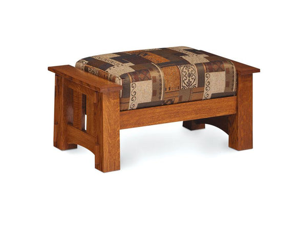 Simply Amish Living Mccoy Ottoman
