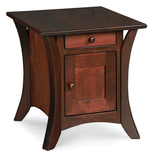 Simply Amish Living Park Avenue Cabinet End Table