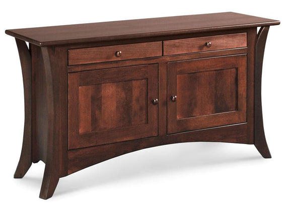 Simply Amish Living Park Avenue Cabinet Sofa Table