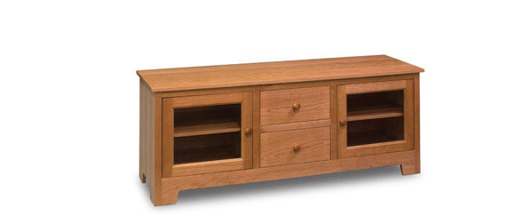 Simply Amish Living Shaker TV Console 62 inch