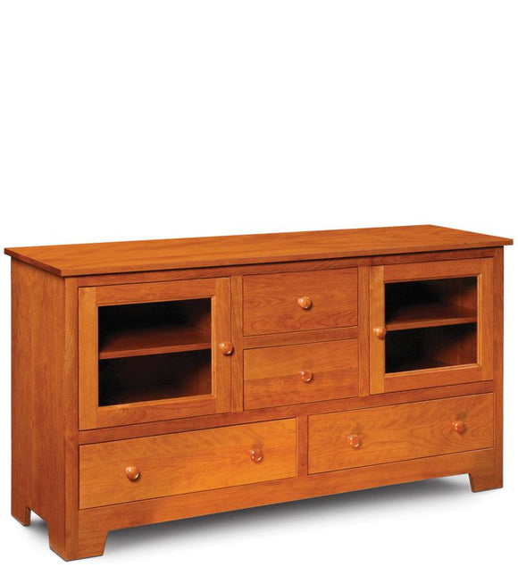 Simply Amish Living Shaker TV Stand 61 1/2 inch