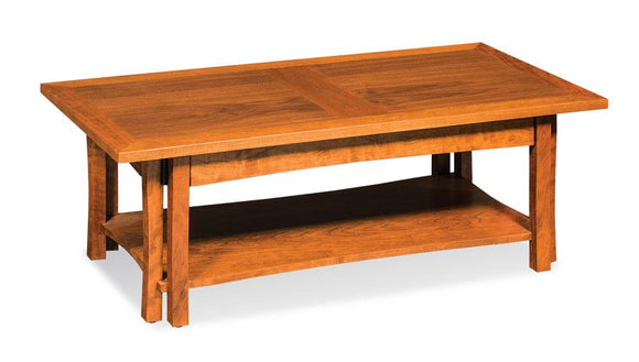 Simply Amish Living Sheridan Coffee Table 42 inches