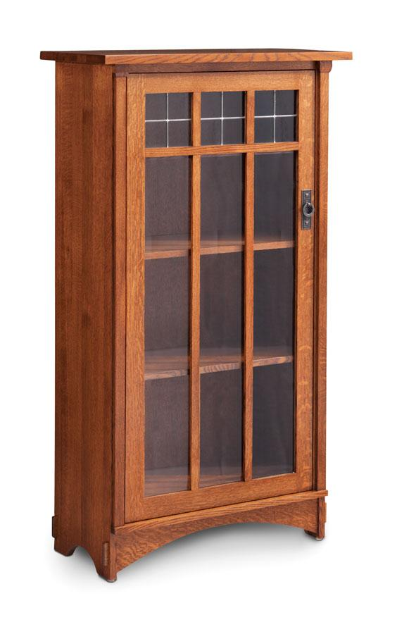 Simply Amish Office Bungalow 1-Door Bookcase