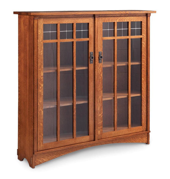 Simply Amish Office Bungalow 2-Door Bookcase