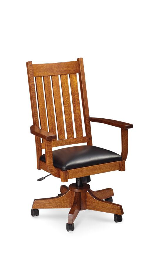 Simply Amish Office Grant Arm Desk Chair