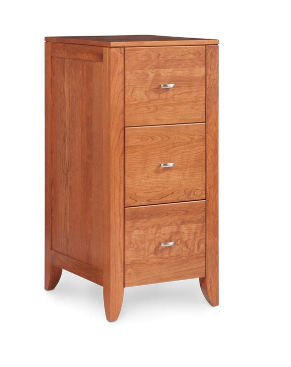Simply Amish Office Justine File Cabinet 2 Drawer