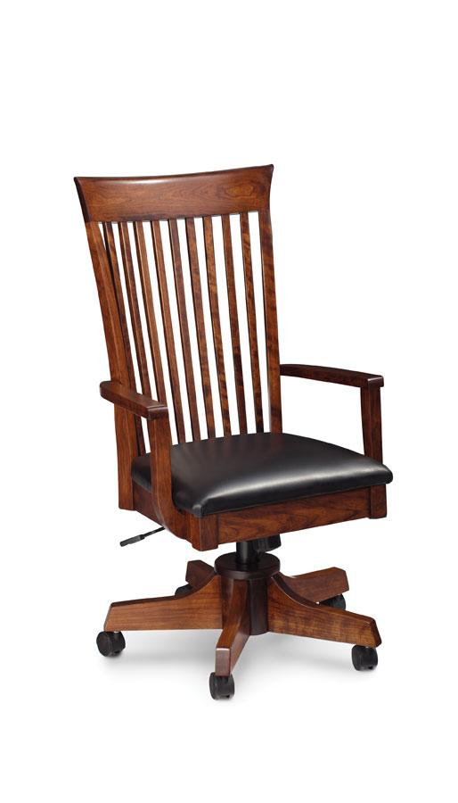 Simply Amish Office Loft Arm Desk Chair