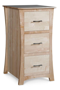 Simply Amish Office Loft File Cabinet 2 Drawer