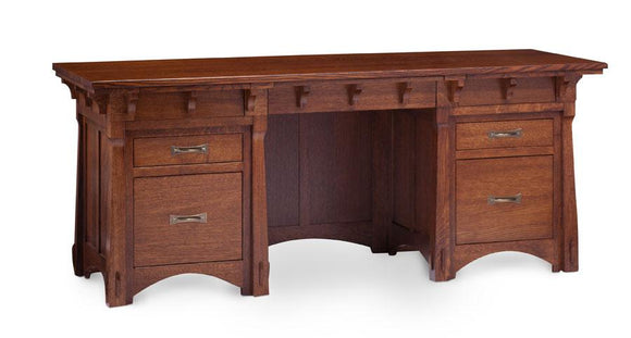Simply Amish Office MaRyan Credenza