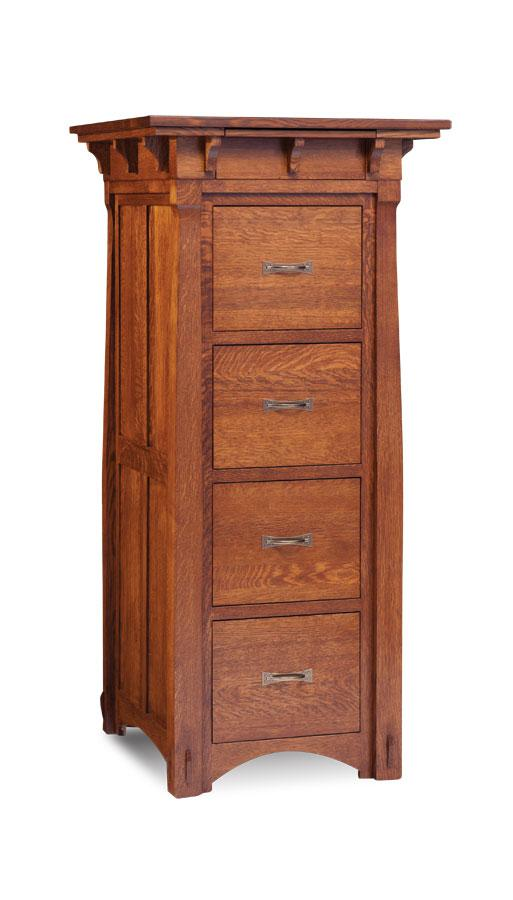 Simply Amish Office MaRyan File Cabinet 2 Drawer