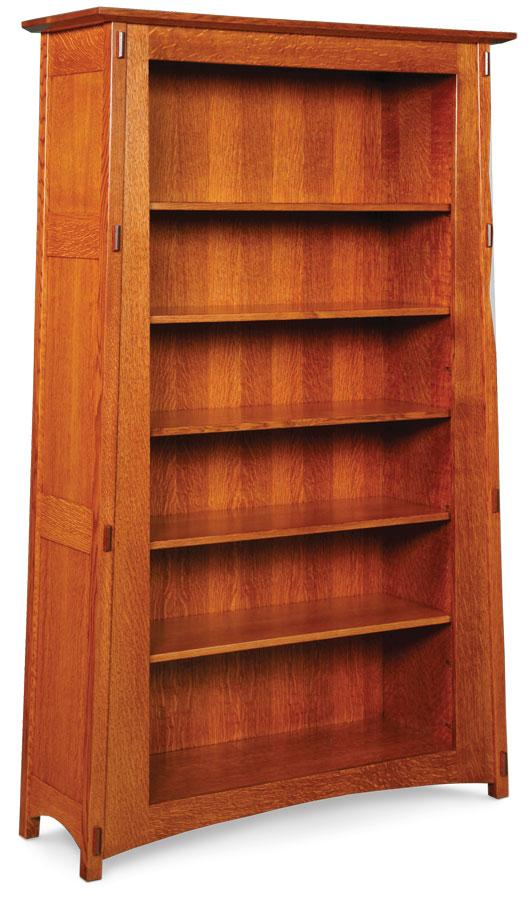 Simply Amish Office McCoy Open Bookcase