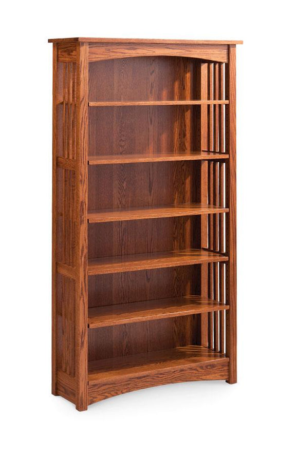 Simply Amish Office Mission Open Bookcase 30 inches high (1 shelf)