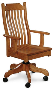 Simply Amish Office Urbandale Arm Desk Chair