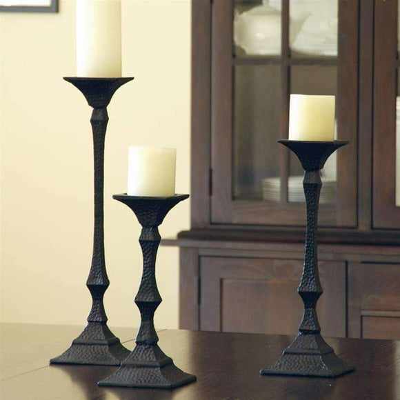 SPI Home Decor Iron Candleholder Trio