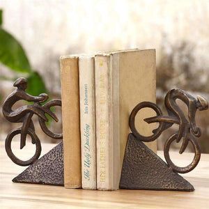 SPI Home Decor Racing Bicycle Bookends