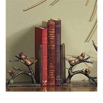 SPI Home Decor Sparrow Bookends