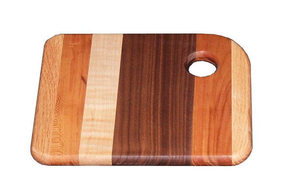 Superior Woodcrafts Gifts Mixed Wood Cheese Board