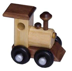 Superior Woodcrafts Nursery Ash Wood Train Engine