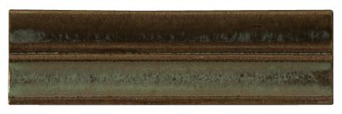 Terra Firma Tile 2 inch Cove Rail Moulding- 6 inches long Alchemy