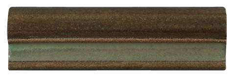 Terra Firma Tile 2 inch Ogee Rail Moulding- 6 inches long Alchemy