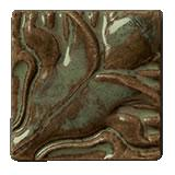 Terra Firma Tile Blossoming Lotus Corner 1 Art Tile Alchemy