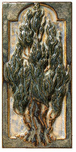 Terra Firma Tile Cypress Tree B Art Tile