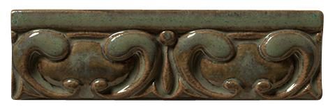 Terra Firma Tile Egg and Dart Moulding- 6 inches long Alchemy