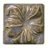 Terra Firma Tile Morning Glory Art Tile Elf Grey