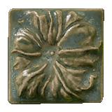 Terra Firma Tile Morning Glory Art Tile Mediterranean