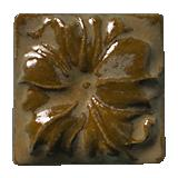 Terra Firma Tile Morning Glory Art Tile Sienna