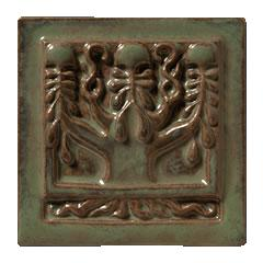 Terra Firma Tile Tree of Life Art Tile Alchemy