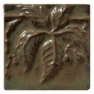 Terra Firma Tile Virginia Creeper 2 Art Tile Alchemy