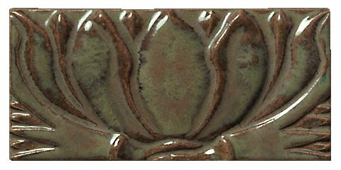 Terra Firma Tile Water Lilly II Art Tile Alchemy