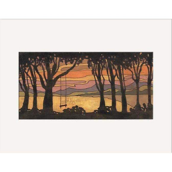 The Bungalow Craft Decor Julie Leidel Evening Swing Print